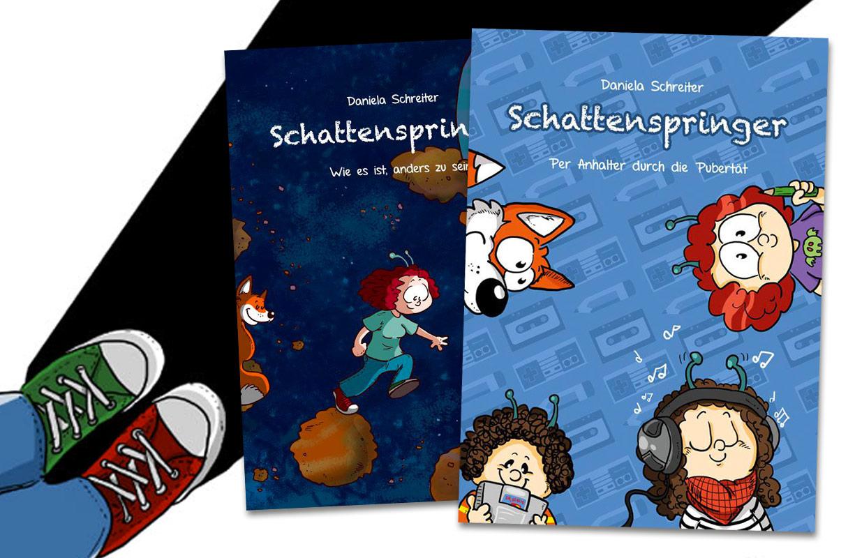 In ihren Schattenspringer-Graphic Novels klärt Daniela Schreiter mit ...
