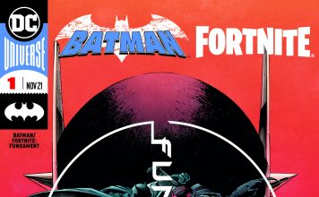 """Die Fortsetzung des Comic-Bestsellers """"Batman/Fortnite: Nullpunkt"""" kommt am Dienstag, den 26. Oktober weltweit in den Handel"""
