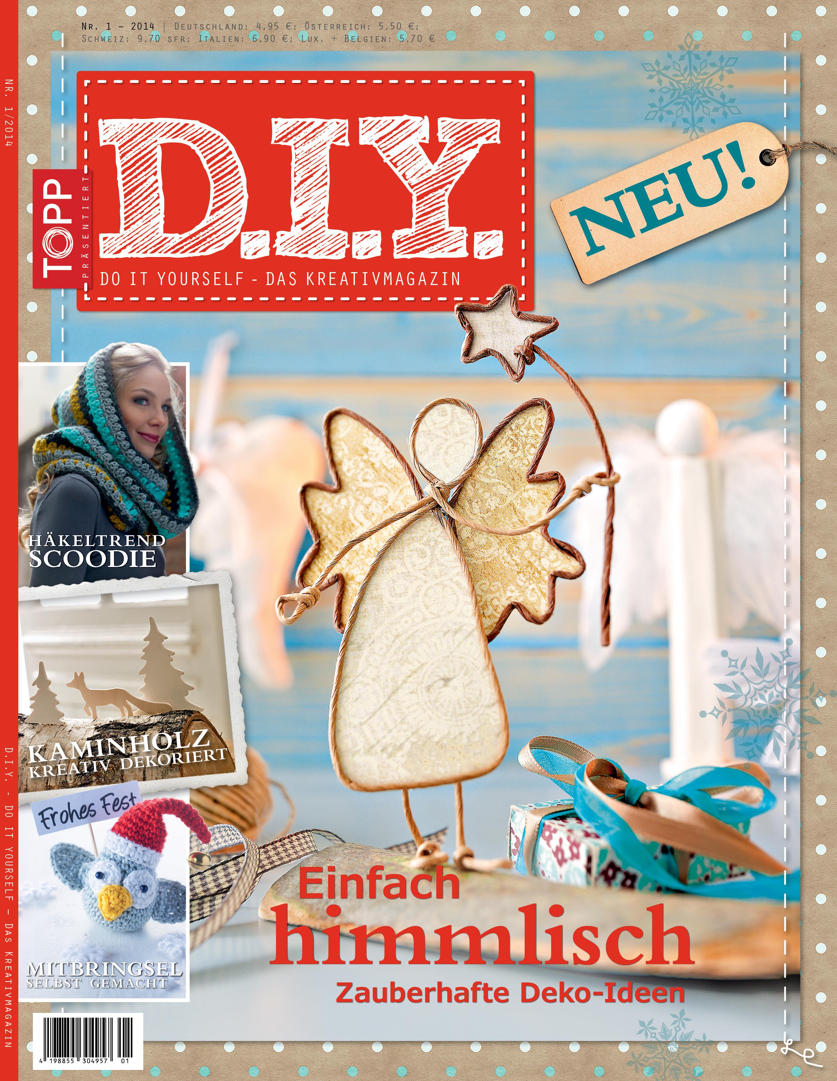 """panini und frechverlag leiten mit """"d.i.y. – das kreativmagazin"""" zum"""